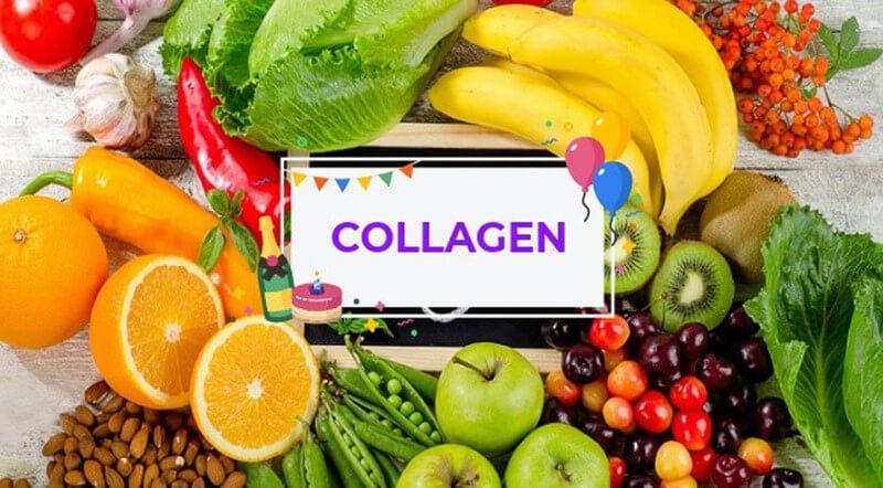 thực phẩm giàu collagen giúp chống lão hóa da