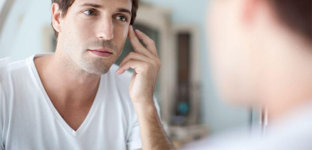cách chăm sóc vùng da quanh mắt đơn giản cho nam