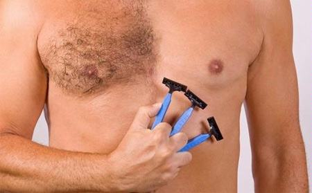 The most effective way to remove chest hair for men today
