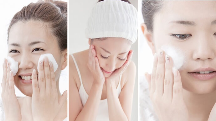 Làm sạch sâu da mặt đúng cách