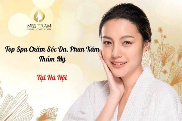 Top 20+ Spa Phun Xăm Thẩm Mỹ, Chăm Sóc Da ở Hà Nội