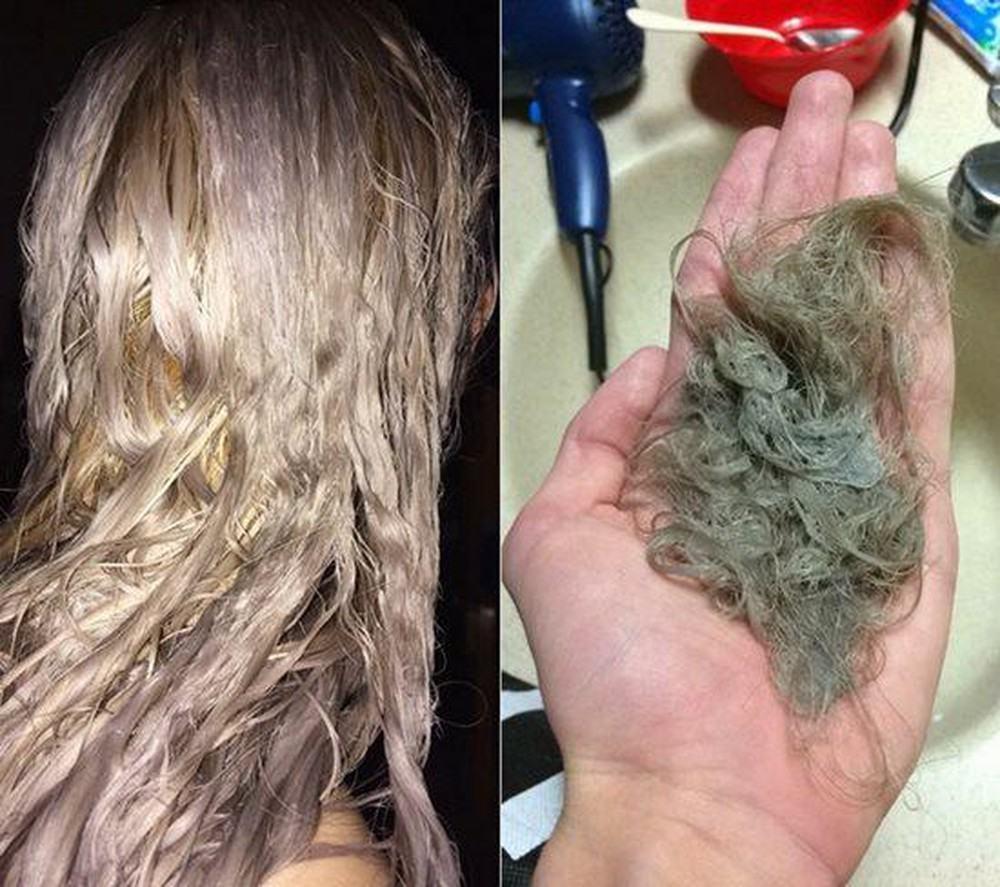 Tự tẩy tóc
