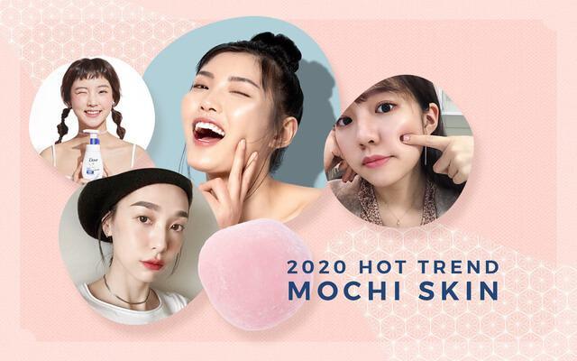xu hướng dưỡng da không tì vết với mochi skin