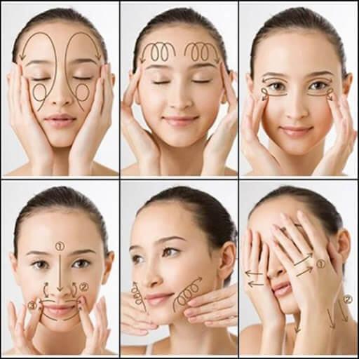 Massage da mặt đúng cách mỗi ngày