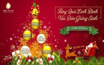 Tặng Quà Linh Đình – Vui Đón Giáng Sinh Cùng Spa Miss Tram