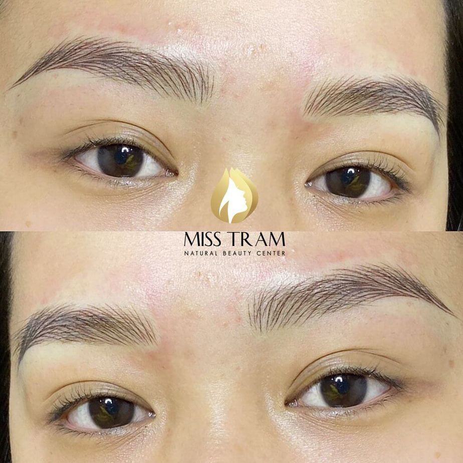 Is the hairsrokes method at miss tram correct?