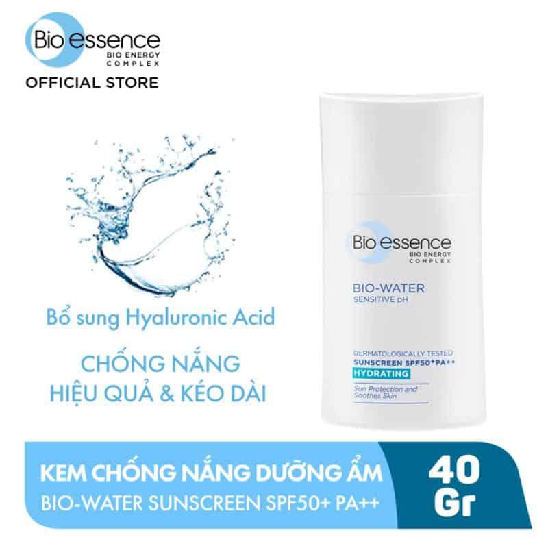 Review Kem Chống Nắng Bio Essence Bio-Water Sunscreen
