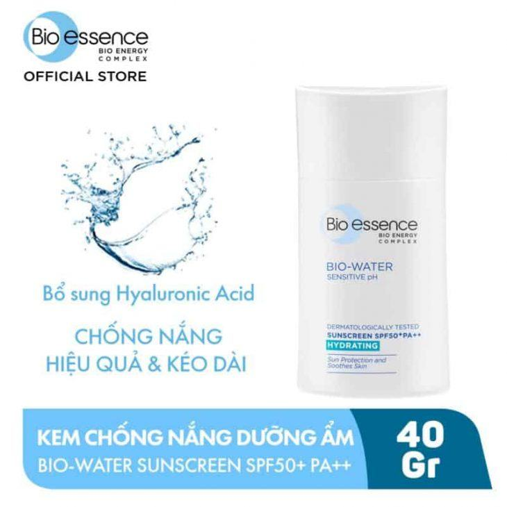 Review Kem Chống Nắng Bio Essence Bio-Water Sunscreen