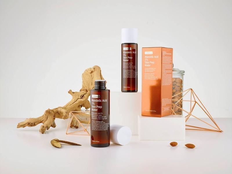 Dung Dịch Tẩy Tế Bào Chết By Wishtrend Mandelic Acid 5% Skin Prep Water