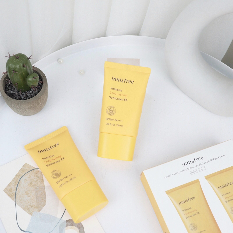 Kem Chống Nắng Lâu Trôi Innisfree Intensive Long Lasting Sunscreen SPF50+ PA++++