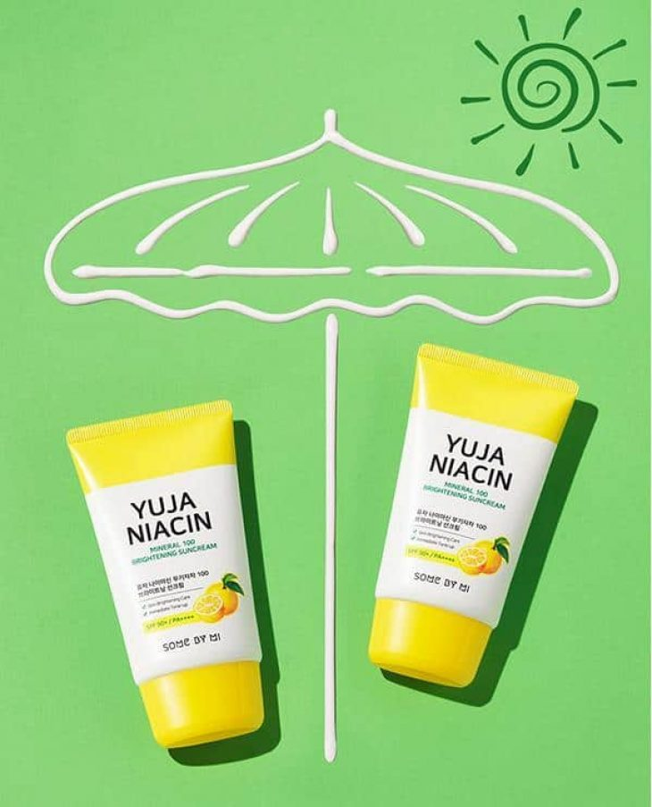 Review Kem Chống Nắng Some By Mi Yuja Niacin Mineral 100 Brightening Suncream