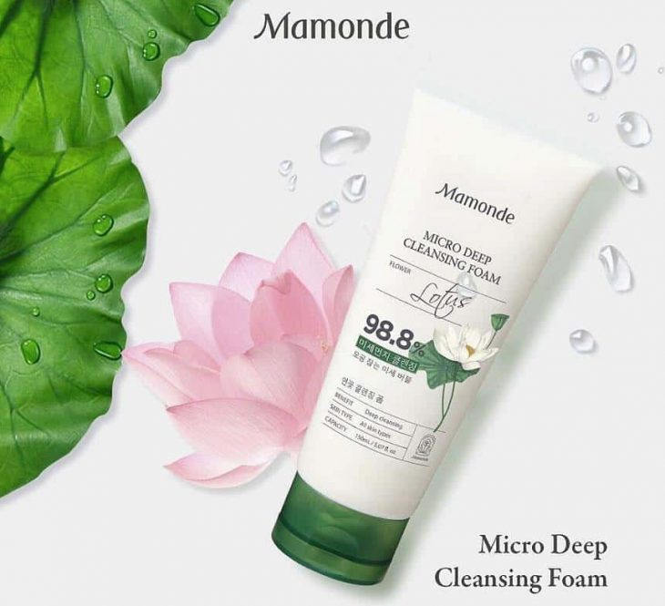 Sữa Rửa Mặt Mamonde Micro Deep Cleansing Foam