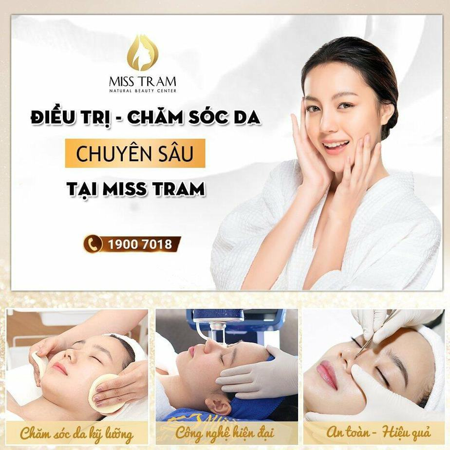 Treatment Services - Intensive Skin Care at Miss Tram Beauty Salon