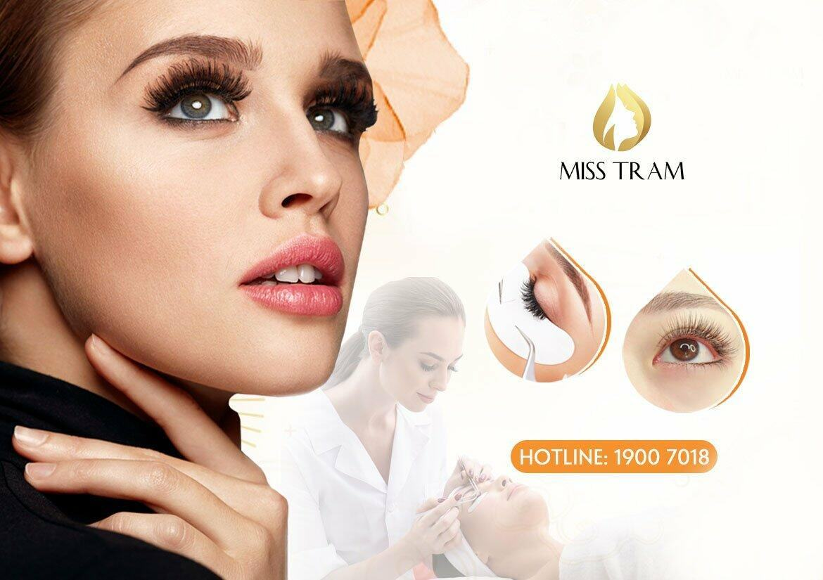 Eyelash extension service is beautiful and sharp in Ho Chi Minh City