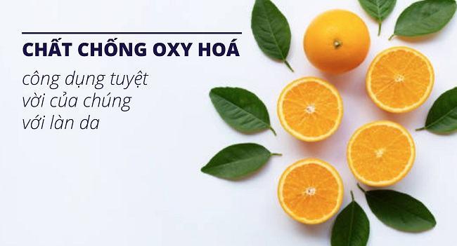 Chống lại thương tổn với các chất chống oxy hóa