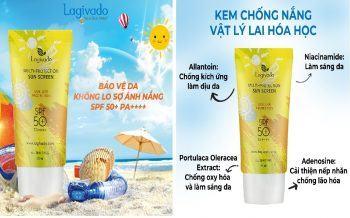 Review Kem Chống Nắng Hàn Quốc Lagivado Multi-Protection Sun Screen SPF50+ PA++++