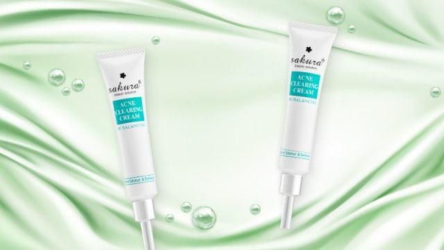 Kem trị mụn lưng tại nhà Acne Clearing Clearing Cream