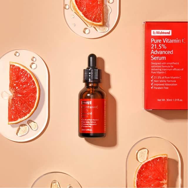 Serum làm đầy sẹo rỗ Hàn Quốc Pure Vitamin C 21.5