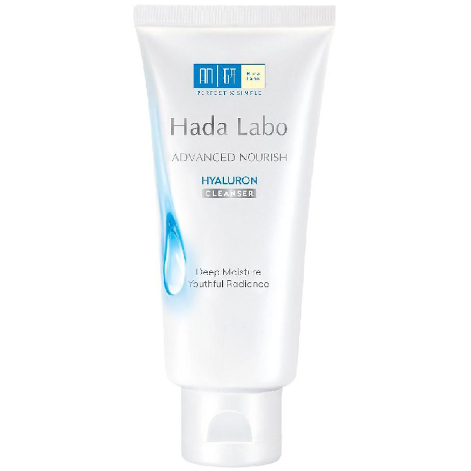 Sửa rửa mặt cho da nhờn mụn Hada Labo Advanced Nourish Hyaluron Cleanser
